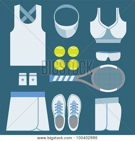 Top View Tennis Women's Gears.