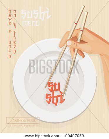 Japanese cuisine restaurant sushi menu