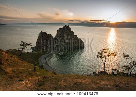 Shaman Cape, Baikal, Russia