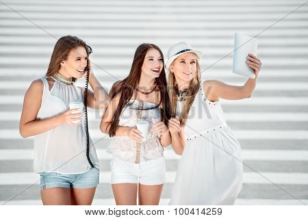 Selfie With Friends.