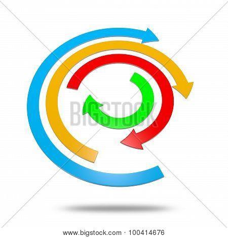 Concentric Arrows