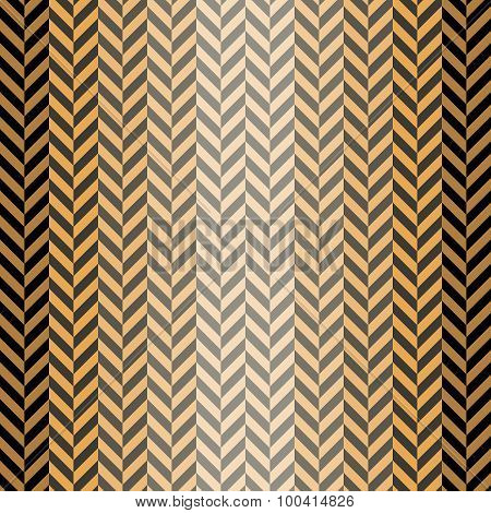 Abstract Seamless Herringbone Pattern In Black, Gray, Orange Colors