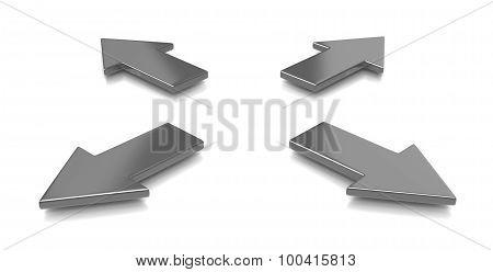 Divergent Arrows