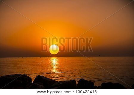 Sunrise in Hurghada/Makadi Bay, Egypt