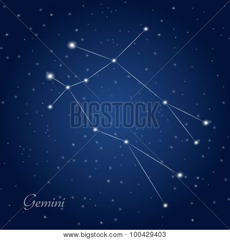 Gemini constellation zodiac