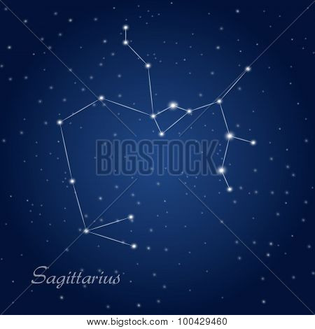 Sagittarius constellation zodiac