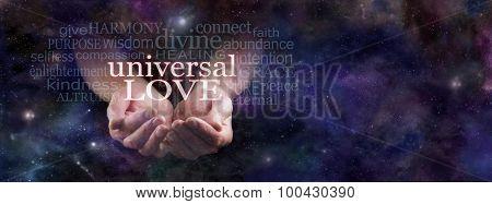 Sharing Universal Love