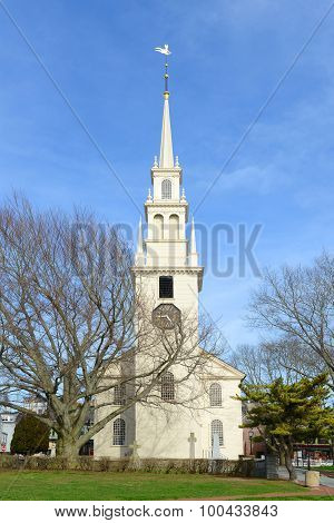 Newport Trinity Church, Rhode Island, USA