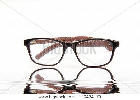 Glasses On White Table