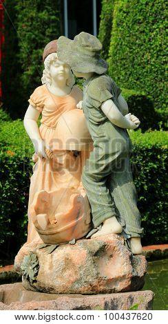Valentine Sculpture