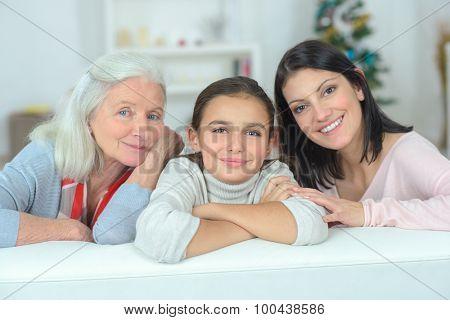 Three generation together