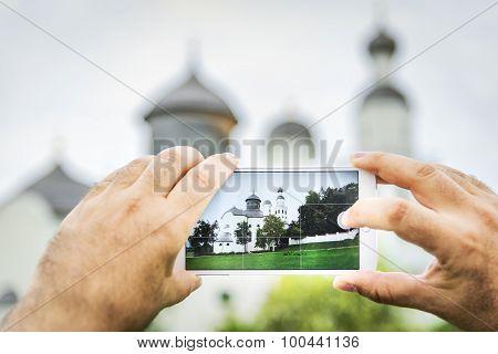 Mobile Shot Pilgrimage Maria Birnbaum