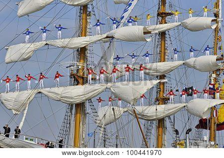 The Sailors Of The Arc Gloria
