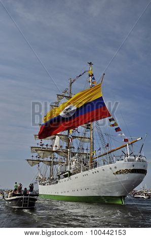 The Arc Gloria On Its Way To Colombia