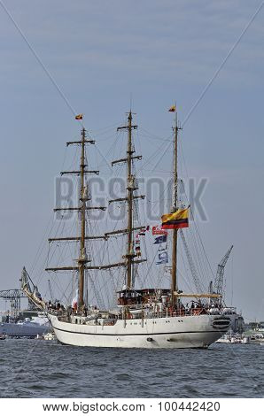 Back View Of The Guayas