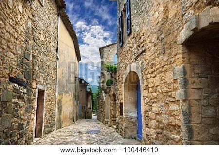 Lacoste Village, France