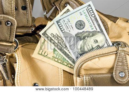 Money In The Handbag