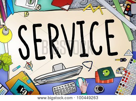 Service Support Satisfaction Consumerism Concept