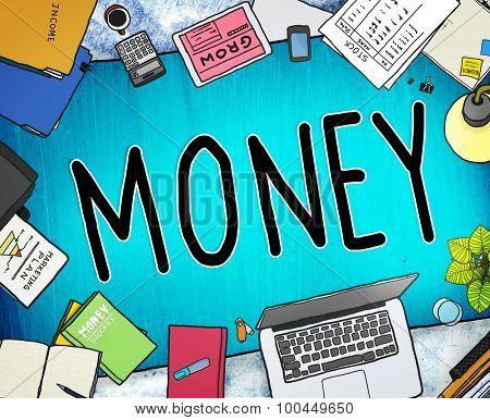 Money Economics Finance Inevstment Payment Concept