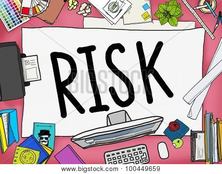 Risk Management Investment Finance Security Concept