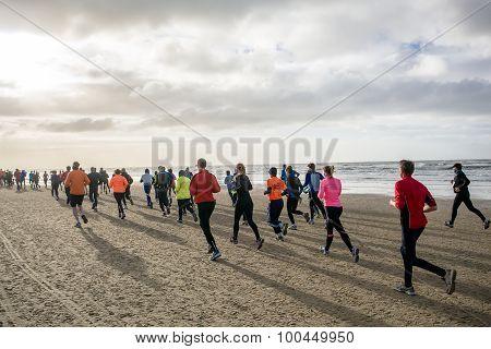 Running A Beach Marathon
