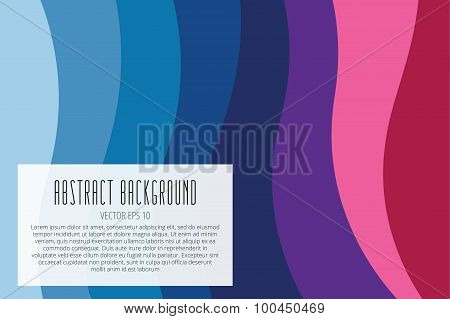Abstract vector line triangle background design