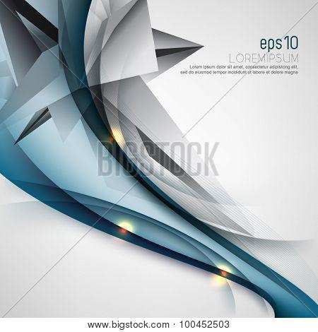 eps10 vector elegant corporate business cover template brochure leaflet background design