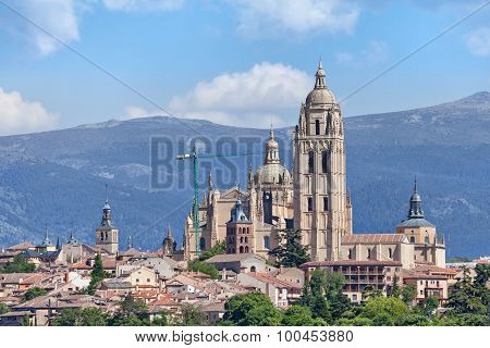 Catedral De Santa Maria De Segovia