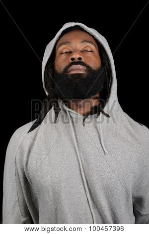 Nice casual Image of a afro American Man
