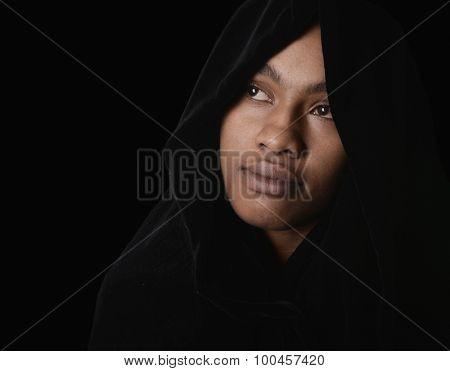 Nice Portrait of a Muslim Woman