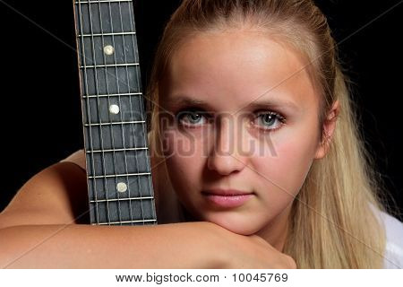 Portrait With Guitar