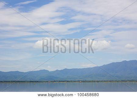 Kwan Phayao,phayao Lake, Locate At Phayao Province, Northern Thailand