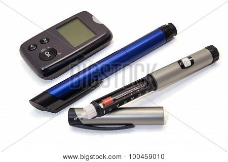 Insulin Pen And Glucometer