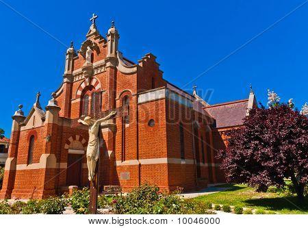 St Joseph's Church in the Australian Bush