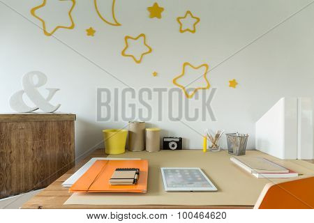 Study Room For Schoolchild