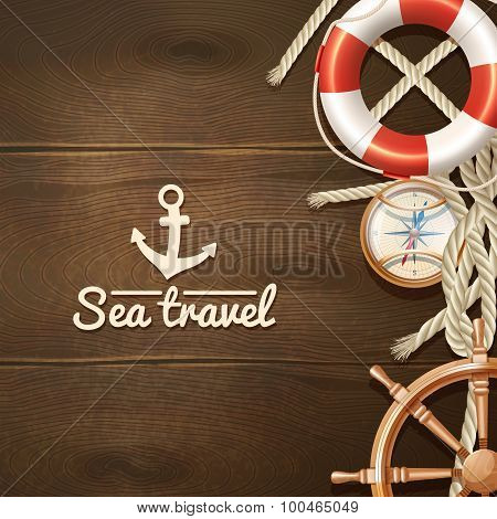 Sea Travel Background