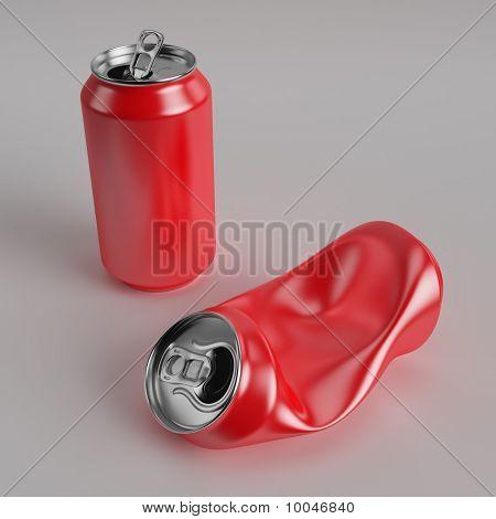 Drink Can Deformed