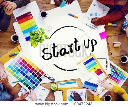 Startup Business Plan Creativity Ideas Inspiration Concept