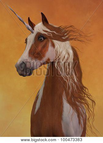 Sorrel Pinto Unicorn