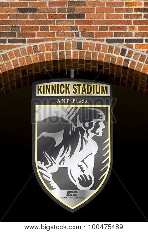 Kinnick Stadium Emblem And Seal