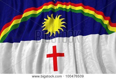 Corrugated Brazilian State Pernambuco Flag