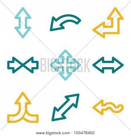 Arrows web icons