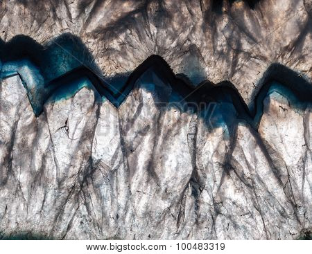 Backlit Mineral Macro