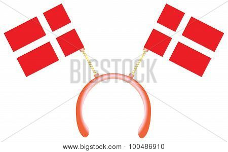 Witty Headdress Flags Denmark
