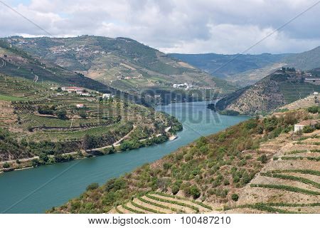 The Winding Douro Valley