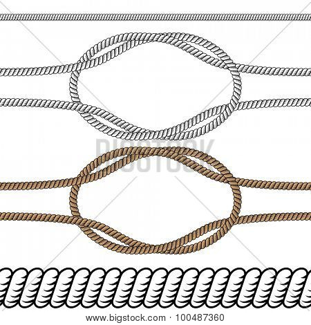 An image of a rope background icon.