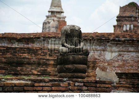Buddha Statue Behead