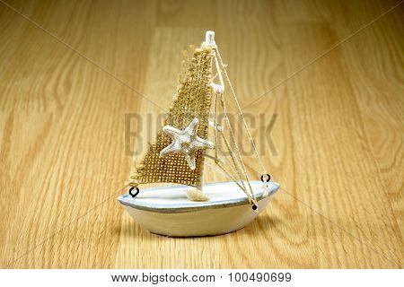 Starfish On Sailboat