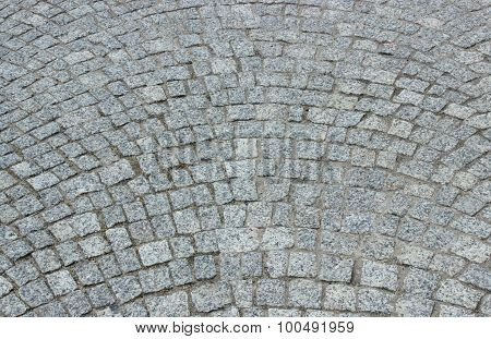 Stone Pavement As Background