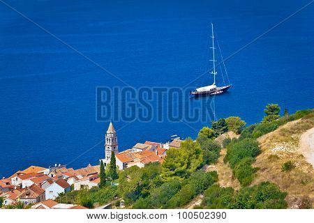Adriatic Town Of Vis Sailing Destination Waterfront